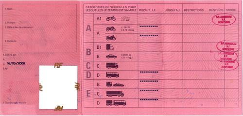 Le permis blanc ou l 39 am nagement de la suspension de permis - Griller un feu rouge suspension de permis ...